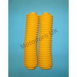 Fork Gaiters Yamaha IT175 1982-83, IT200, IT250 1981-83, IT465 1981-82 & IT490 - Yellow