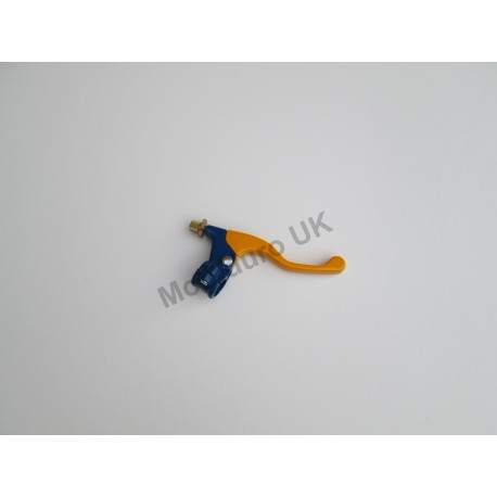 Alloy Short Front Brake Lever     (Universal Type) Blue/Yellow
