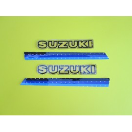 Suzuki PE175/250/400T 1980 Perforated Tank Decal Stripes