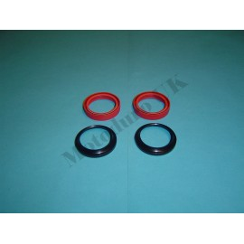 Fork and dust seal set Yamaha IT250/400/425 D/E/F/G 1977-1980 (also IT400C 1976)