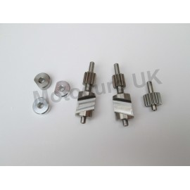 Kawasaki KDX200E 1989-94 KIPS power valve set made from stainless steel