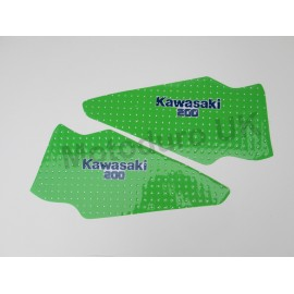 Kawasaki KDX200C2 1987 Perforated Pre-Cut Tank Decals (will also fit 1986/88 models)