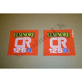 Side Panel Decals Honda CR250 1979