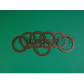 Clutch steel plate set Kawasaki KDX200 1989-94