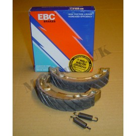 EBC Water Grooved Front Brake Shoes Honda CR125 1981