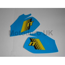 Perforated Tank Decals (Pre-cut) Yamaha IT250/465 H 1981