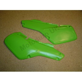 Side panels (Reproduction) Kawasaki KDX200 A1-A3 1983-85