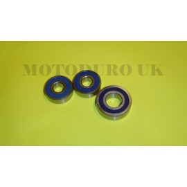 Rear Wheel Bearing Overhaul Kit Suzuki PE175T/X/Z 1980-82