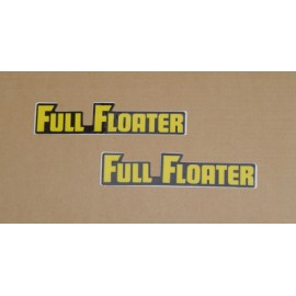 Swing Arm Full Floater decals