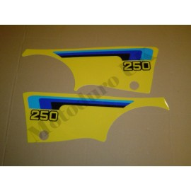Side Panel Decal Set Suzuki RM250T 1980