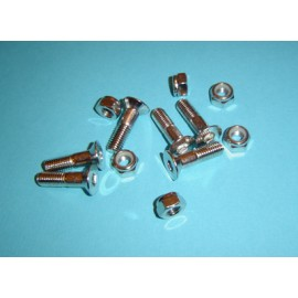 Rear sprocket bolt and nut universal set M8 x 30mm